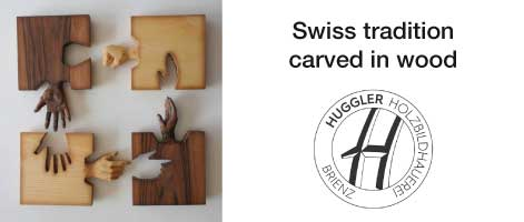 Swiss tradition carved in wood
