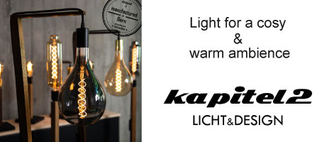 Light for a cosy & warm ambience