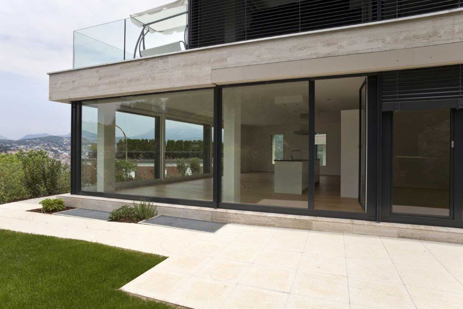Glass films from Sorenos as sun protection, against UV rays, to save energy