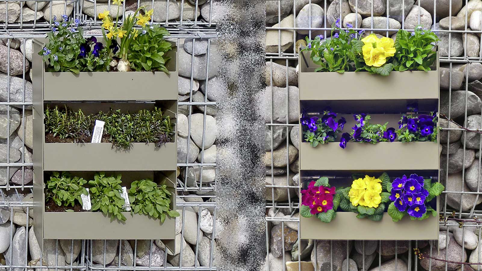Stacking garden, the clever system for vertical planting by Stapelgarten