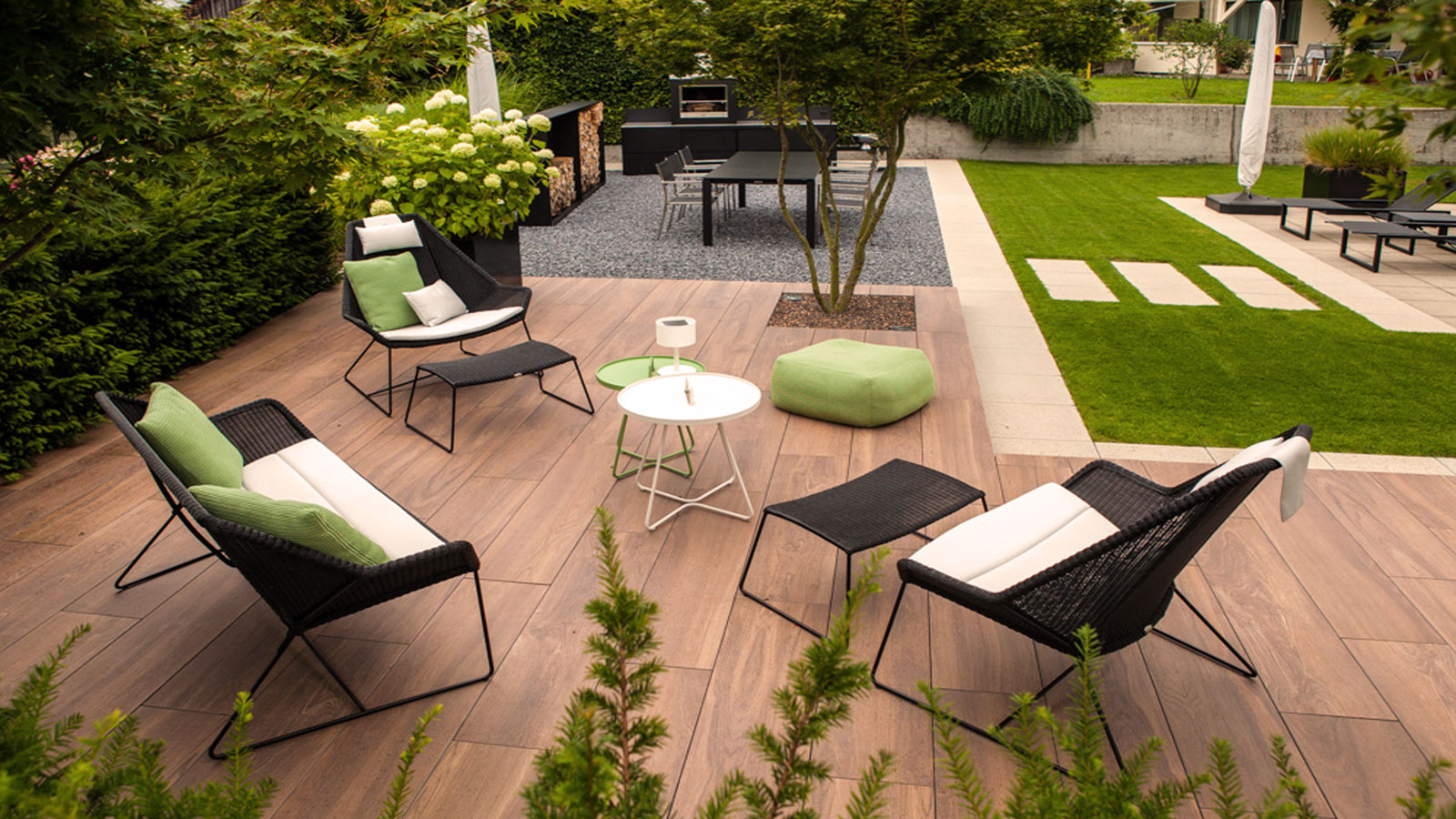 Garden furniture and garden design by Zweifel Terrazza AG